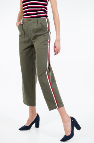 Fabric trousers TJW SIDE STR HIGH RISE STRAIGHT-1