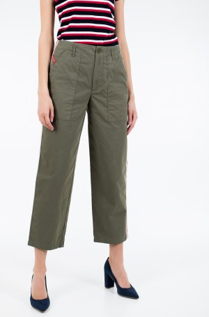 Fabric trousers TJW SIDE STR HIGH RISE STRAIGHT-2