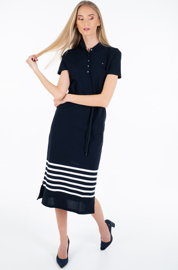 TALIA POLO DRESS SS