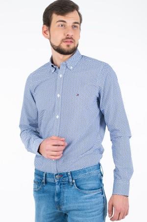Marškiniai SLIM NATURAL SOFT PRINTED SHIRT-1