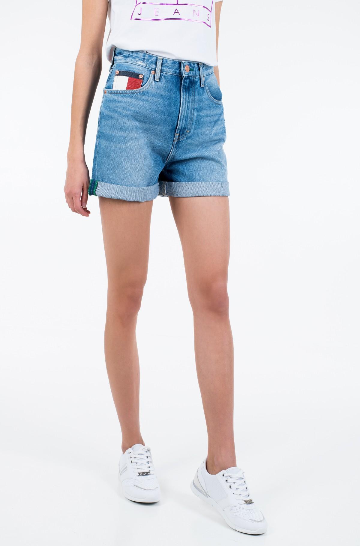 Lühikesed teksapüksid HIGH RISE MOM SHORT SVLTR-full-1