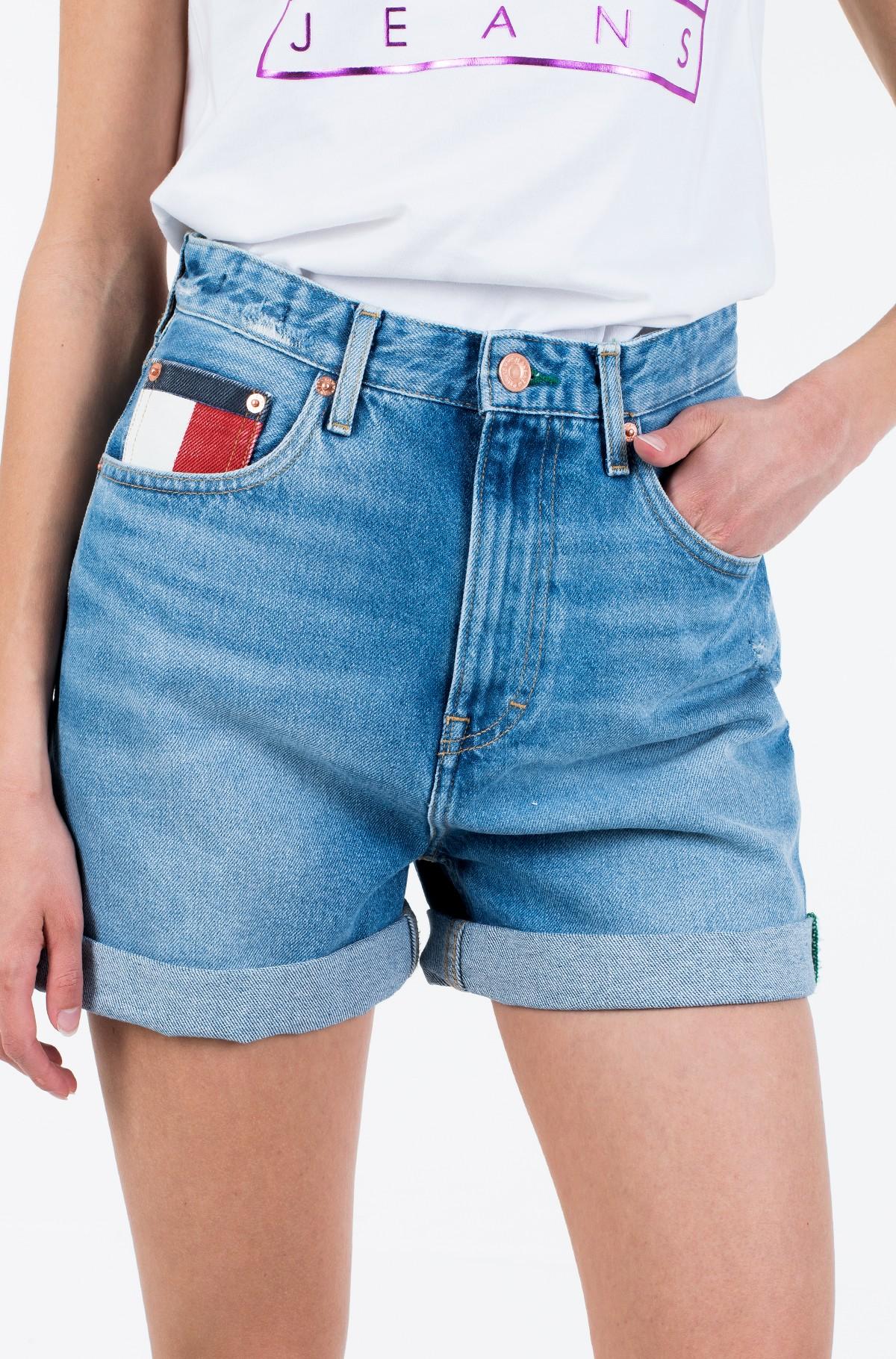 Lühikesed teksapüksid HIGH RISE MOM SHORT SVLTR-full-2