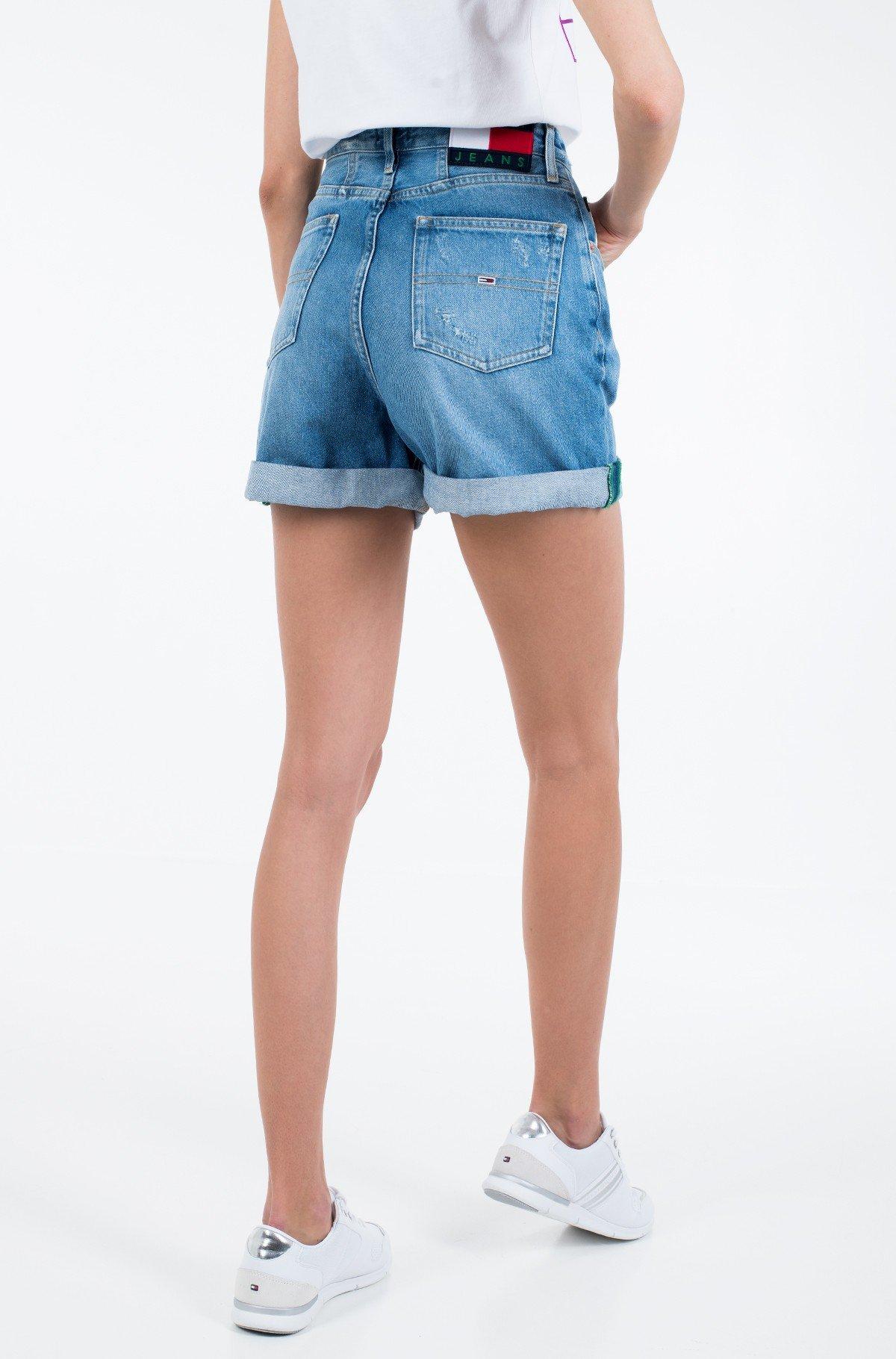Lühikesed teksapüksid HIGH RISE MOM SHORT SVLTR-full-3