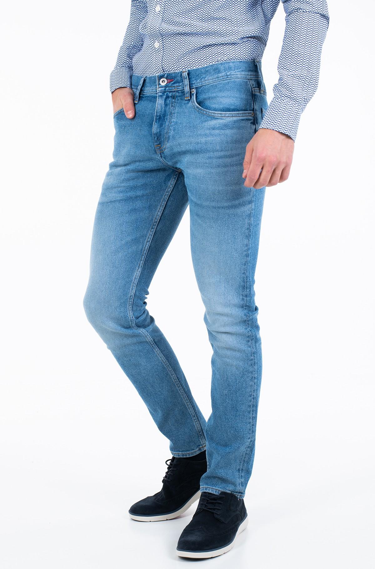 Džinsinės kelnės SLIM LAYTON PSTR CLUTE BLUE-full-1