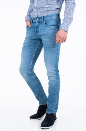 Džinsinės kelnės SLIM LAYTON PSTR CLUTE BLUE-1