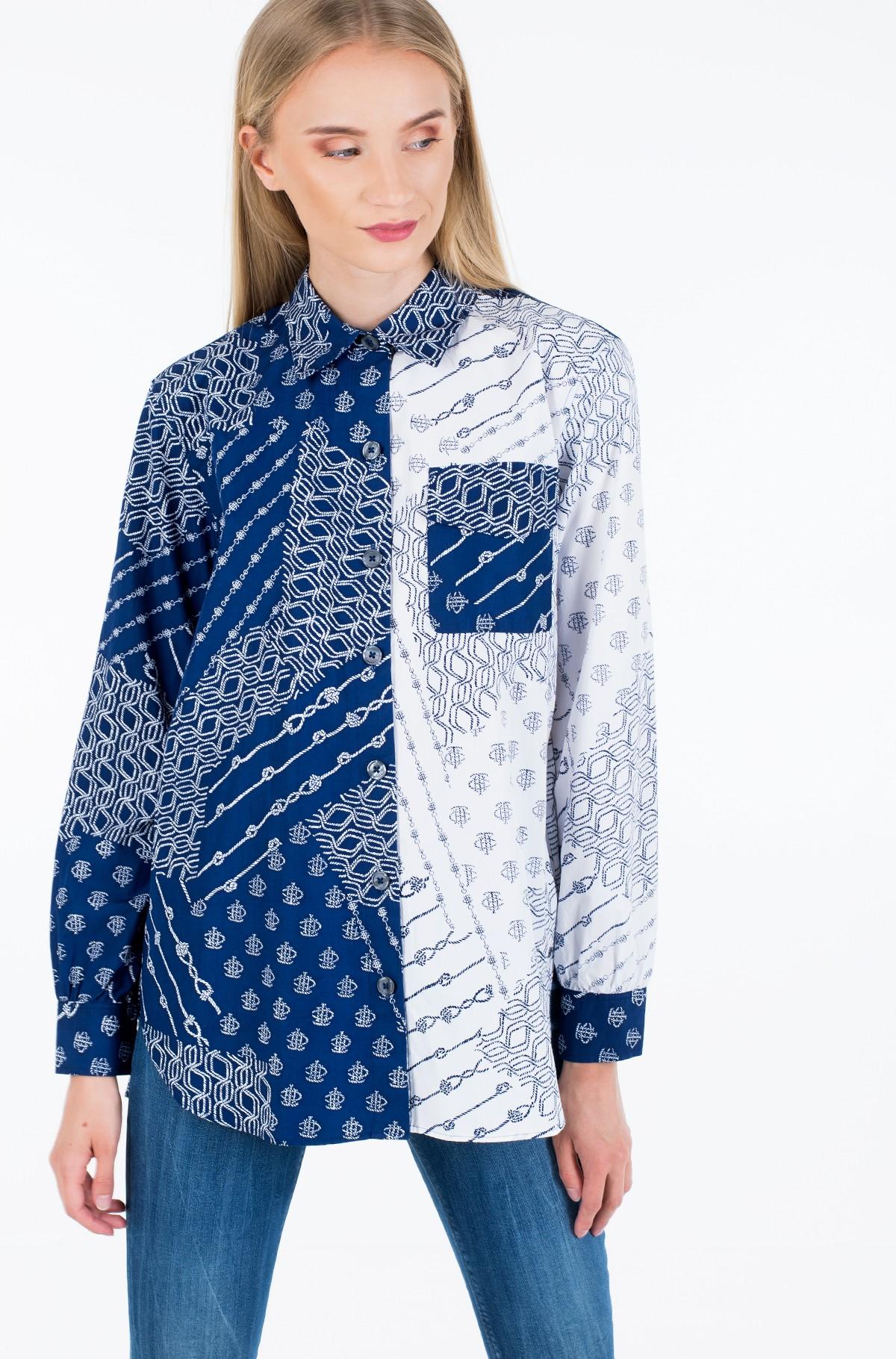 Marškiniai MILLIE PRT SHIRT LS W3-full-2