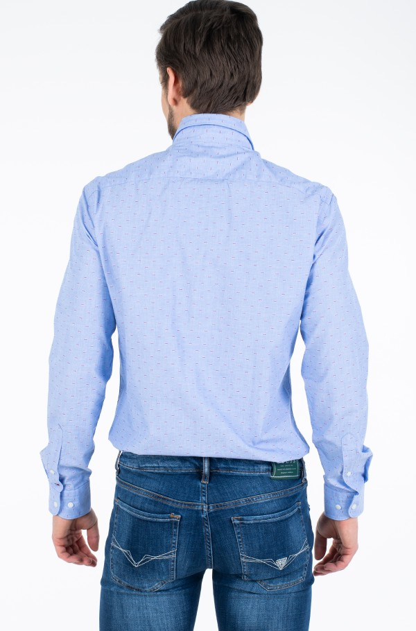 WASHED DOBBY CLASSIC SHIRT-hover