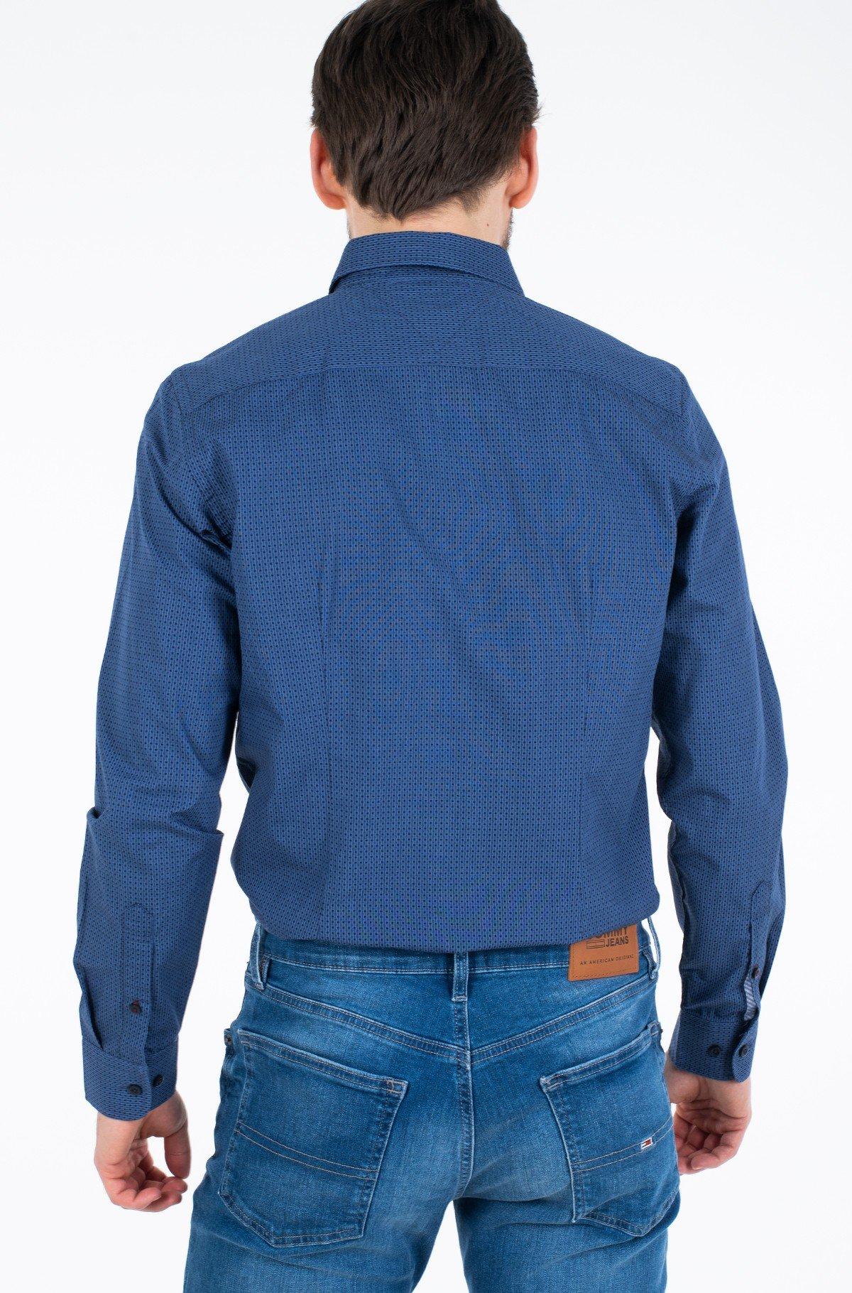 Marškiniai SLIM SQUARE PRINT SHIRT-full-2