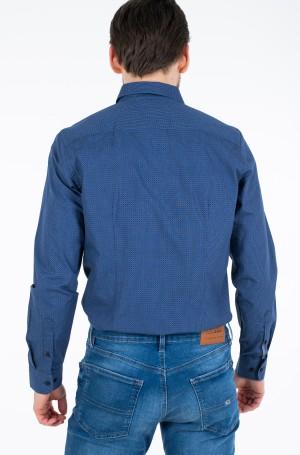 Marškiniai SLIM SQUARE PRINT SHIRT-2