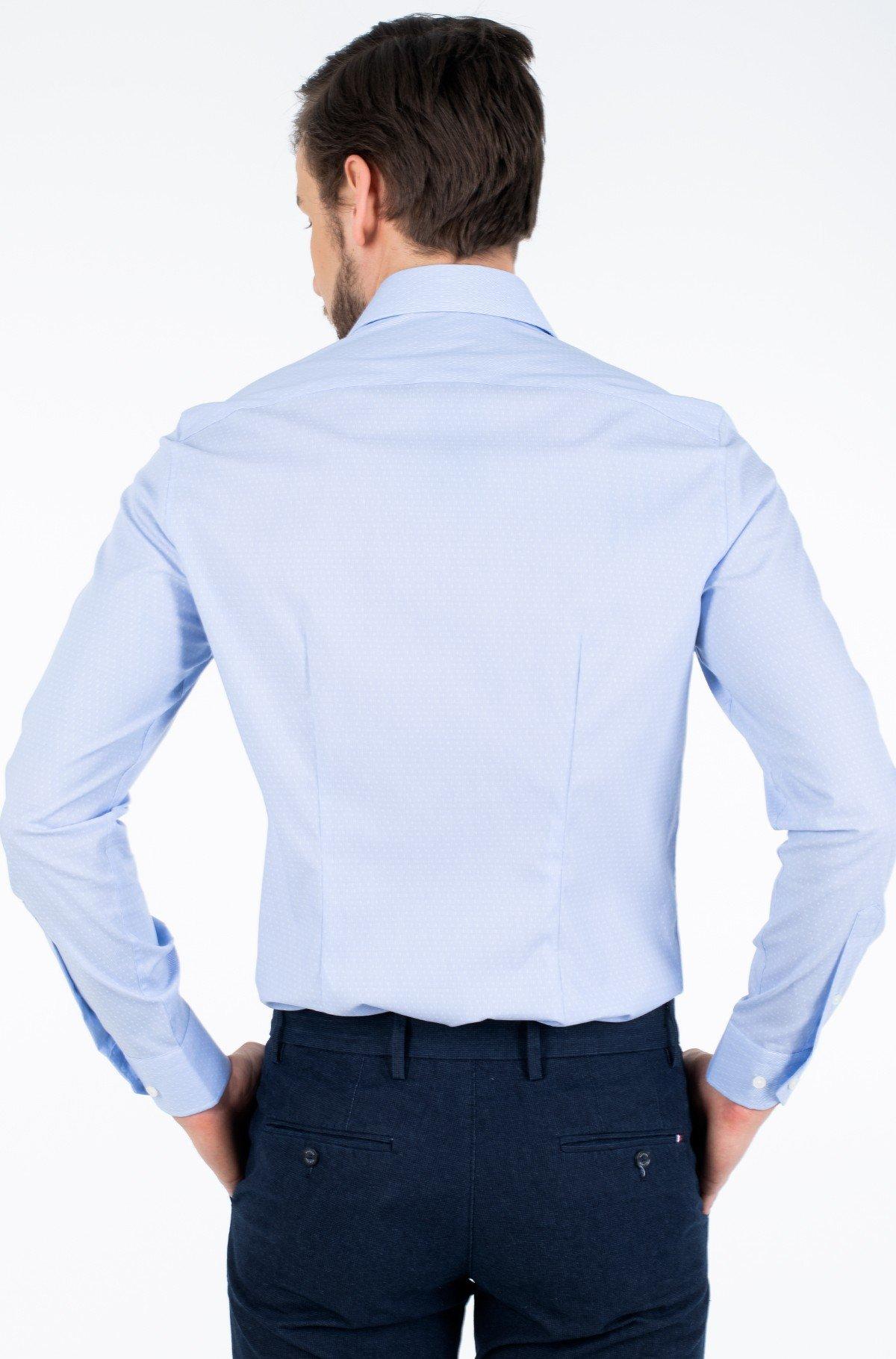 Marškiniai DOBBY FLEX COLLAR SLIM SHIRT-full-2