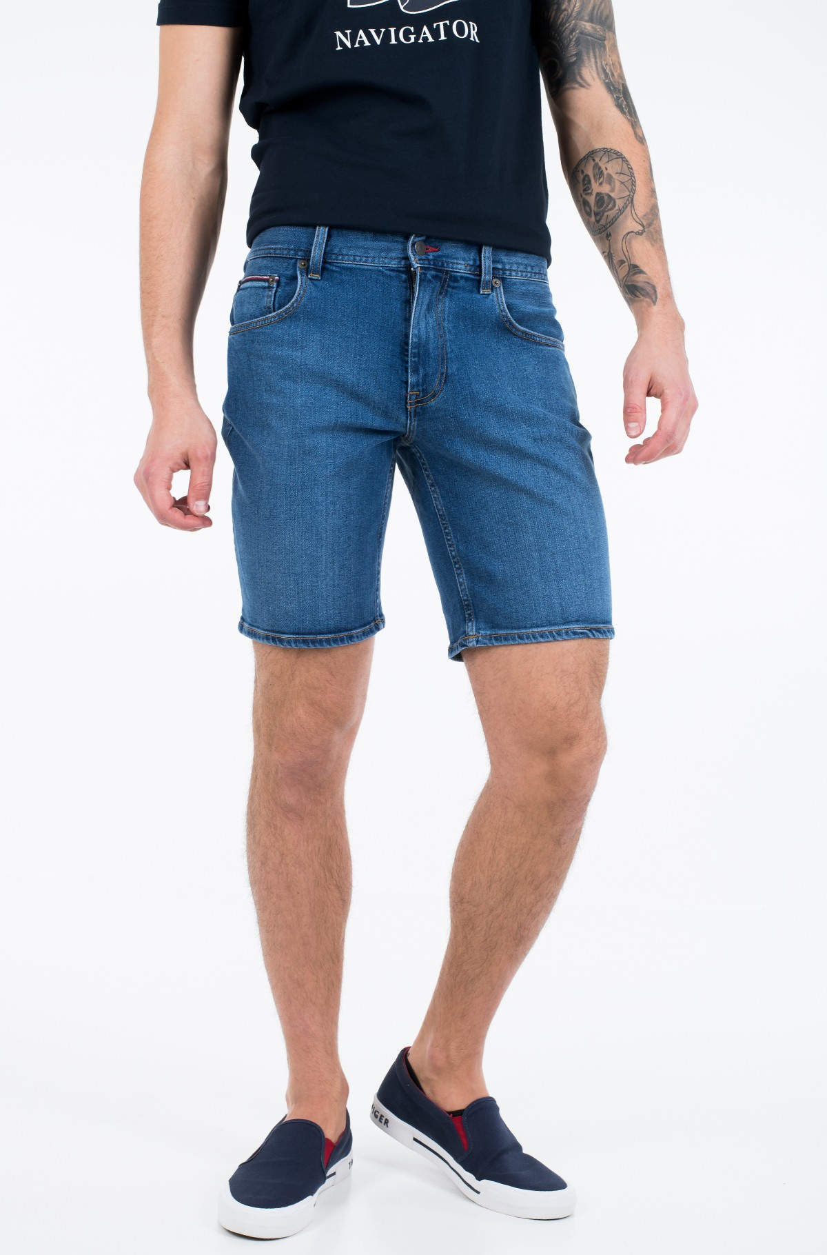 Shorts BROOKLYN 5PKT SHORT ALVIN BLUE-full-1