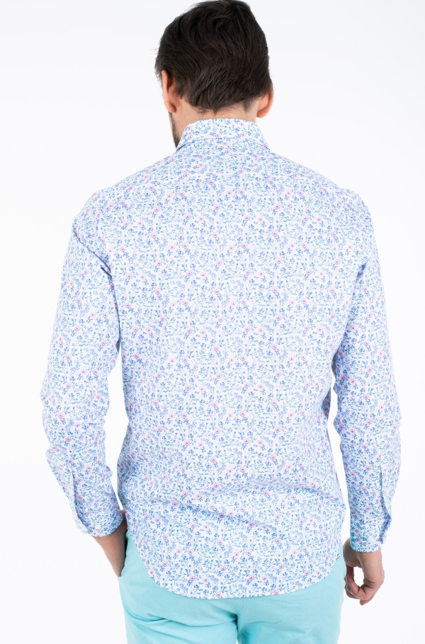 FLORAL PRINT CLASSIC SHIRT-hover