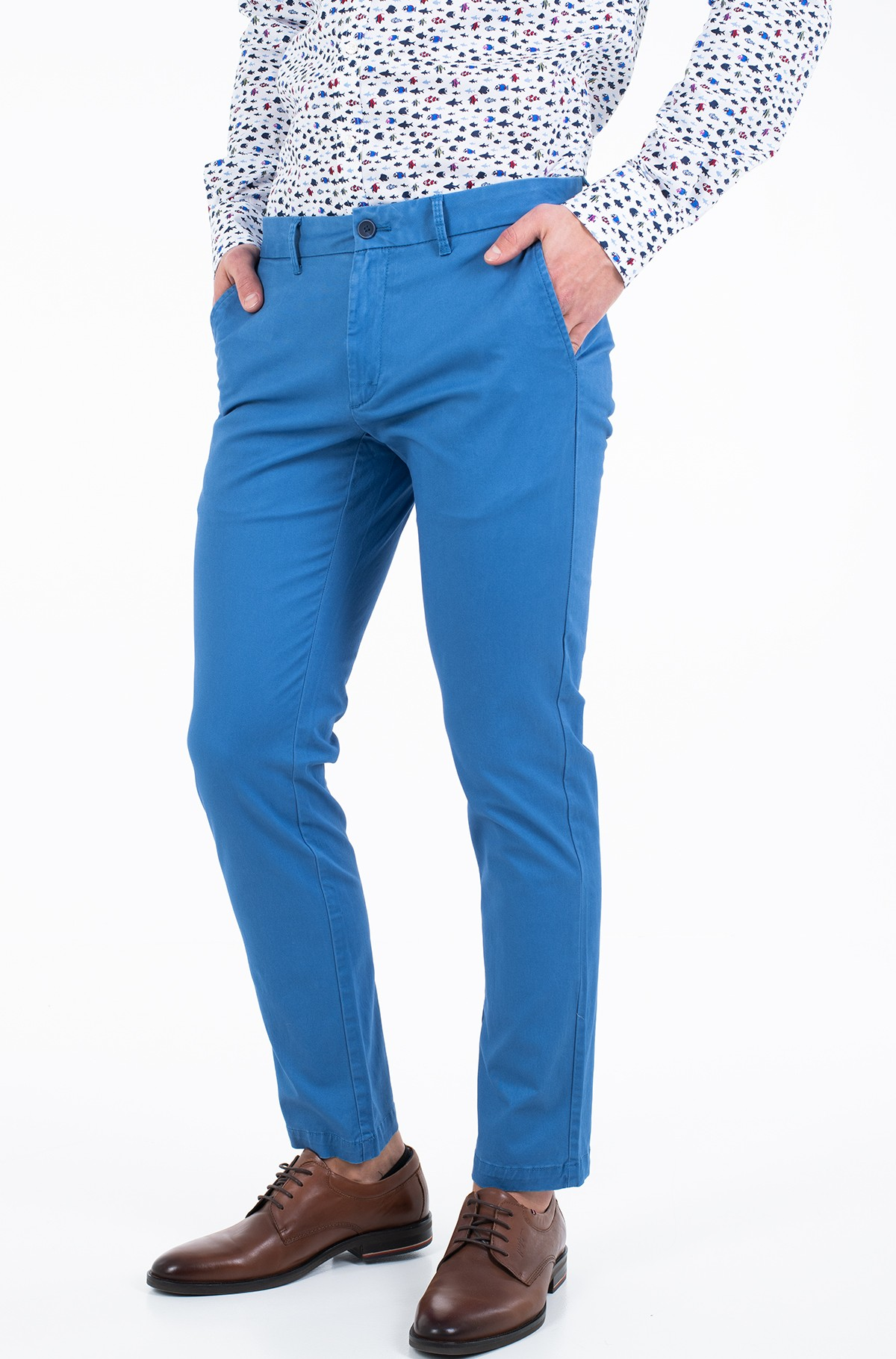 Fabric trousers SALTWATER SOFT CHINO PANT-full-1