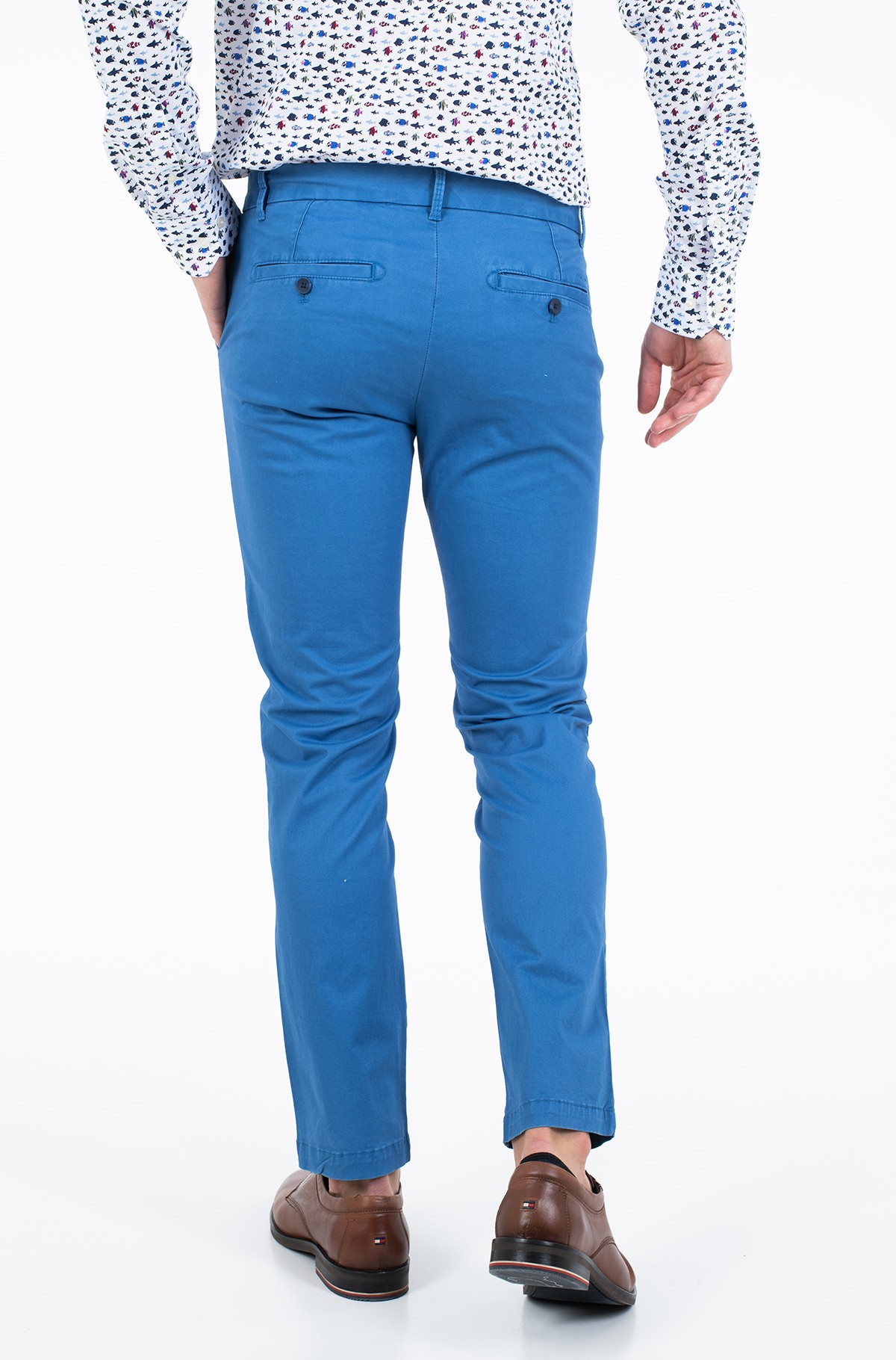 Fabric trousers SALTWATER SOFT CHINO PANT-full-2
