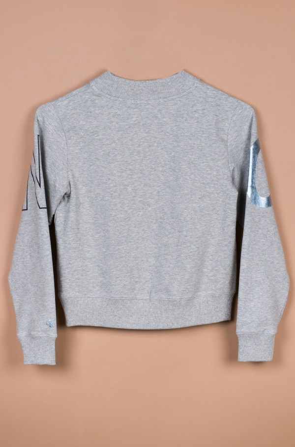 LOGO FOIL BOXY FIT SWEATSHIRT-hover