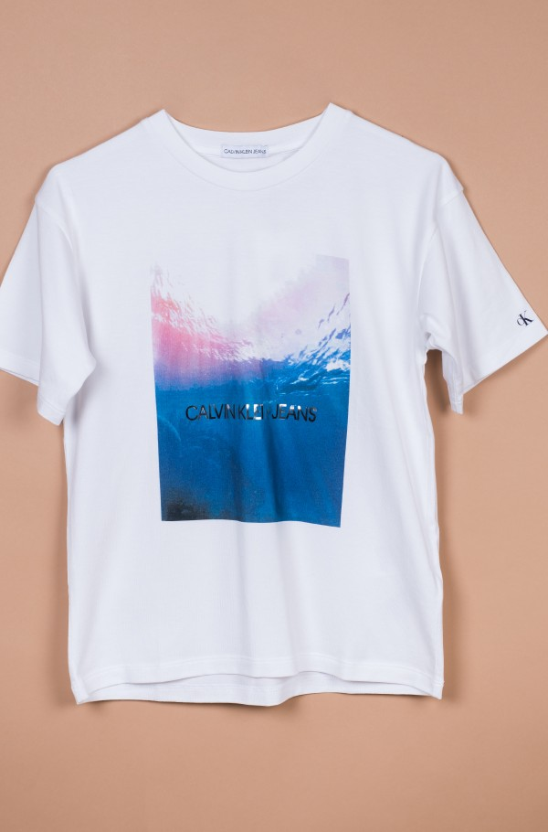 PHOTO PRINT OVERSIZED SS T-SHIRT