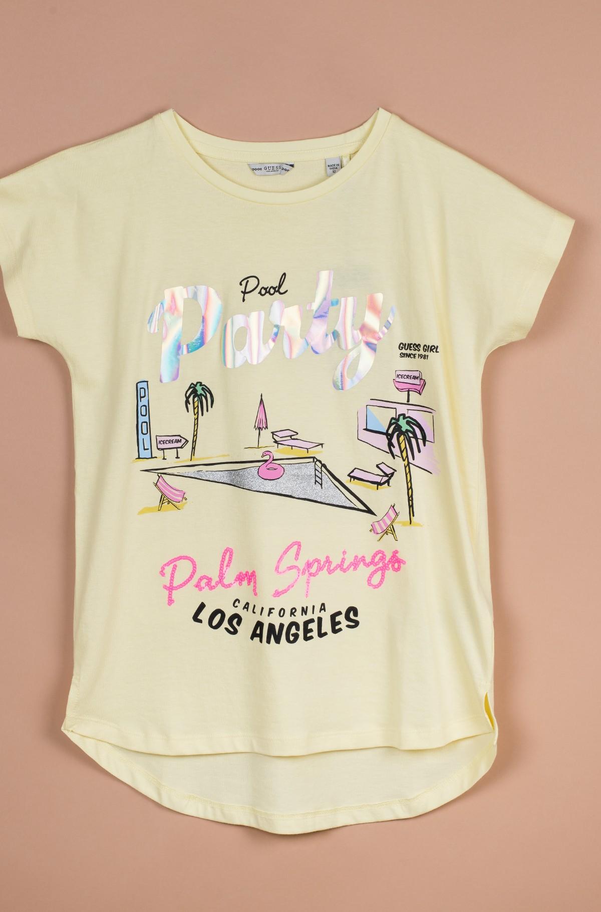 Vaikiški marškinėliai trumpomis rankovėmis J02I22 K5M20-full-1