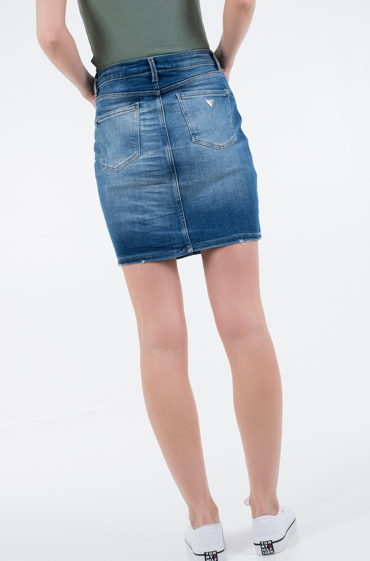 Denim skirt  W01D80 D38R8-full-2