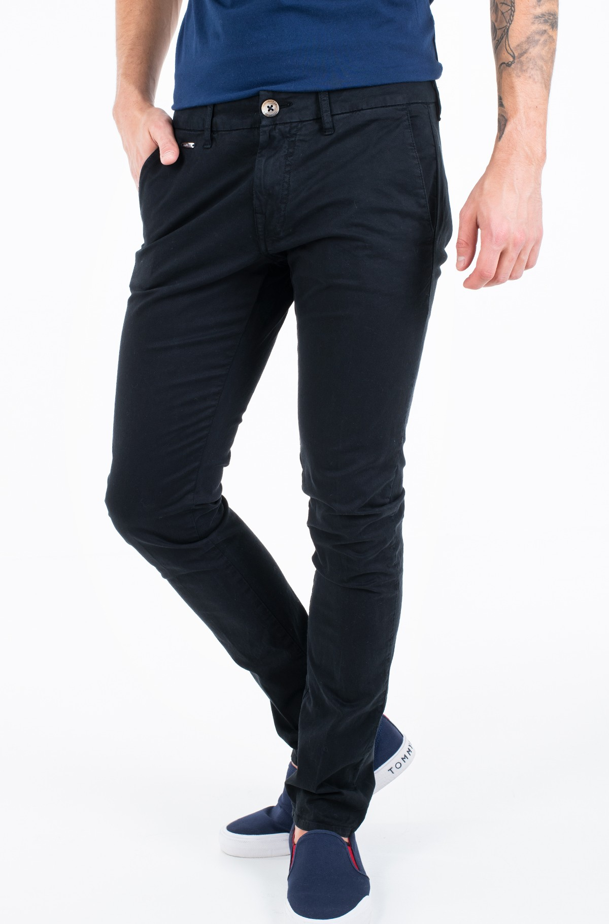 Fabric trousers M01B29 WCNZ1-full-1