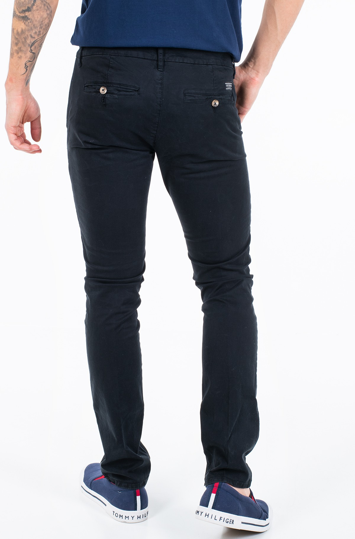 Fabric trousers M01B29 WCNZ1-full-2