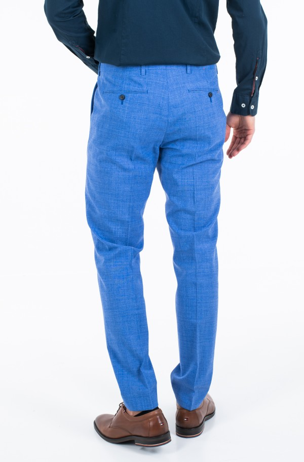 SLIM FIT SOLID BLEND PANT-hover