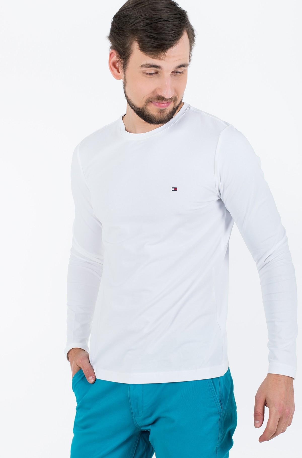 T-krekls ar garām piedurknēm  STRETCH SLIM FIT LONG SLEEVE TEE-full-1