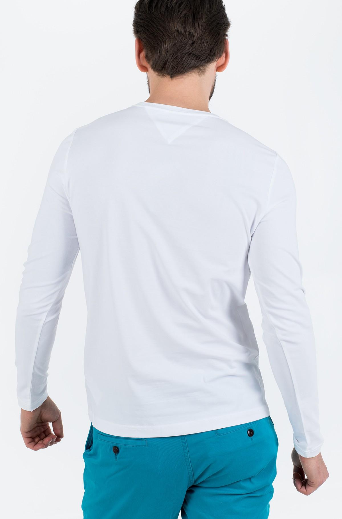 T-krekls ar garām piedurknēm  STRETCH SLIM FIT LONG SLEEVE TEE-full-2