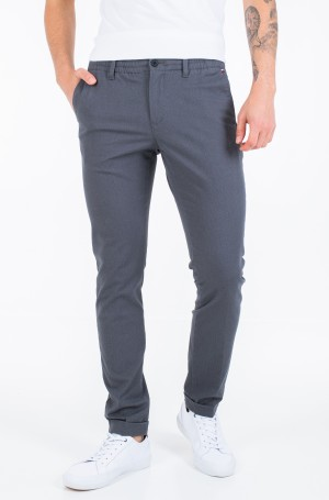 Fabric trousers ACTIVE TH FLEX STRETCH MELANGE-1