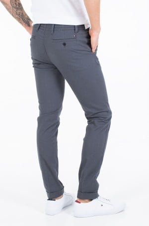 Fabric trousers ACTIVE TH FLEX STRETCH MELANGE-2