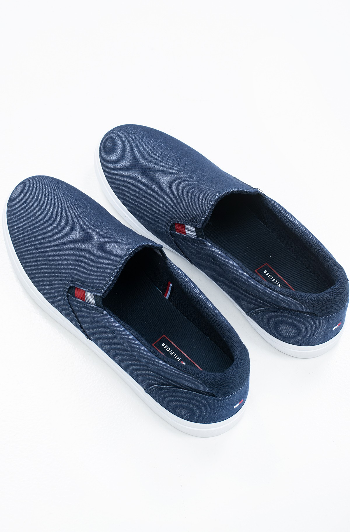 Sportbačiai ESSENTIAL SLIP ON SNEAKER DENIM-full-2
