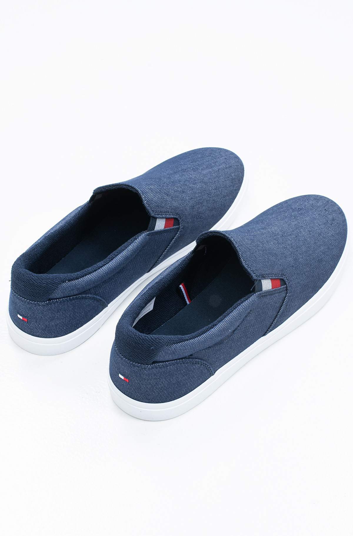 Sportbačiai ESSENTIAL SLIP ON SNEAKER DENIM-full-3