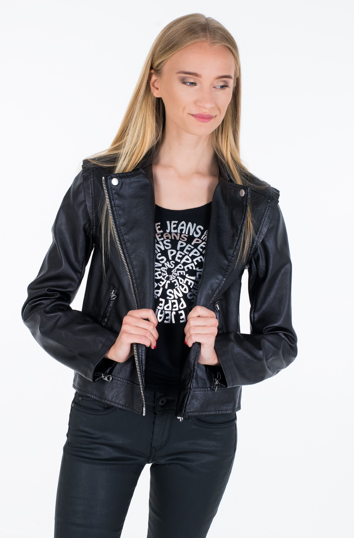 Leather jacket PINA/PL401808-full-2