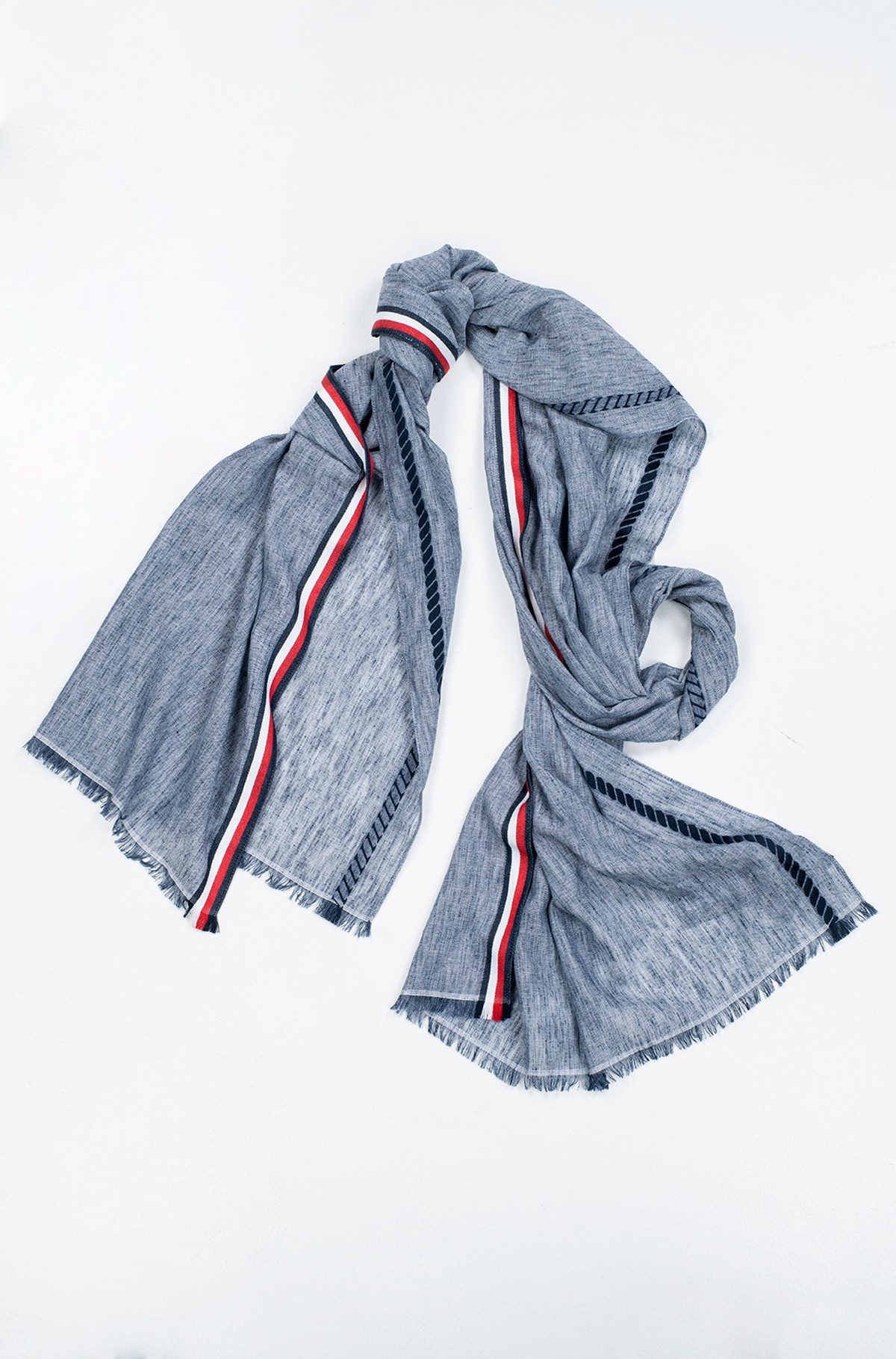 Sall CORPORATE STRIPE SCARF-full-1
