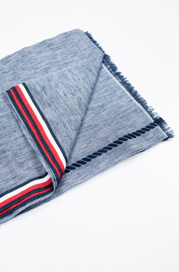 CORPORATE STRIPE SCARF-hover