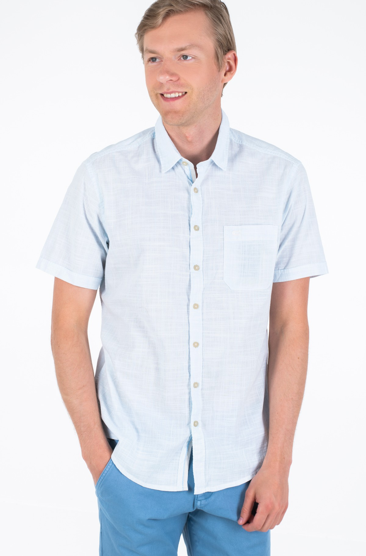 Marškiniai su trumpomis rankovėmis 409221/3S32-full-1