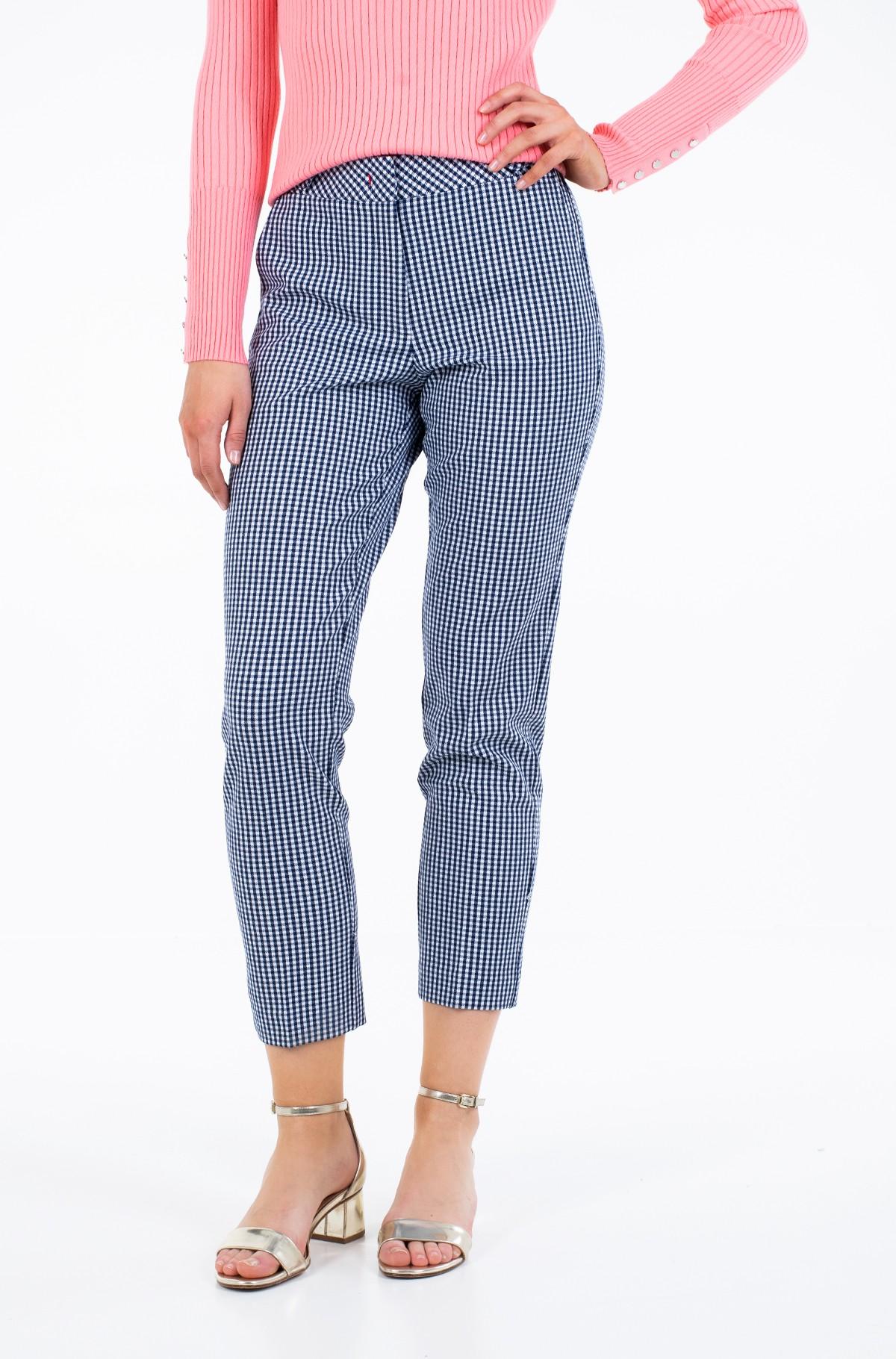 Trousers POLYVISCOSE SLIM PANT-full-1