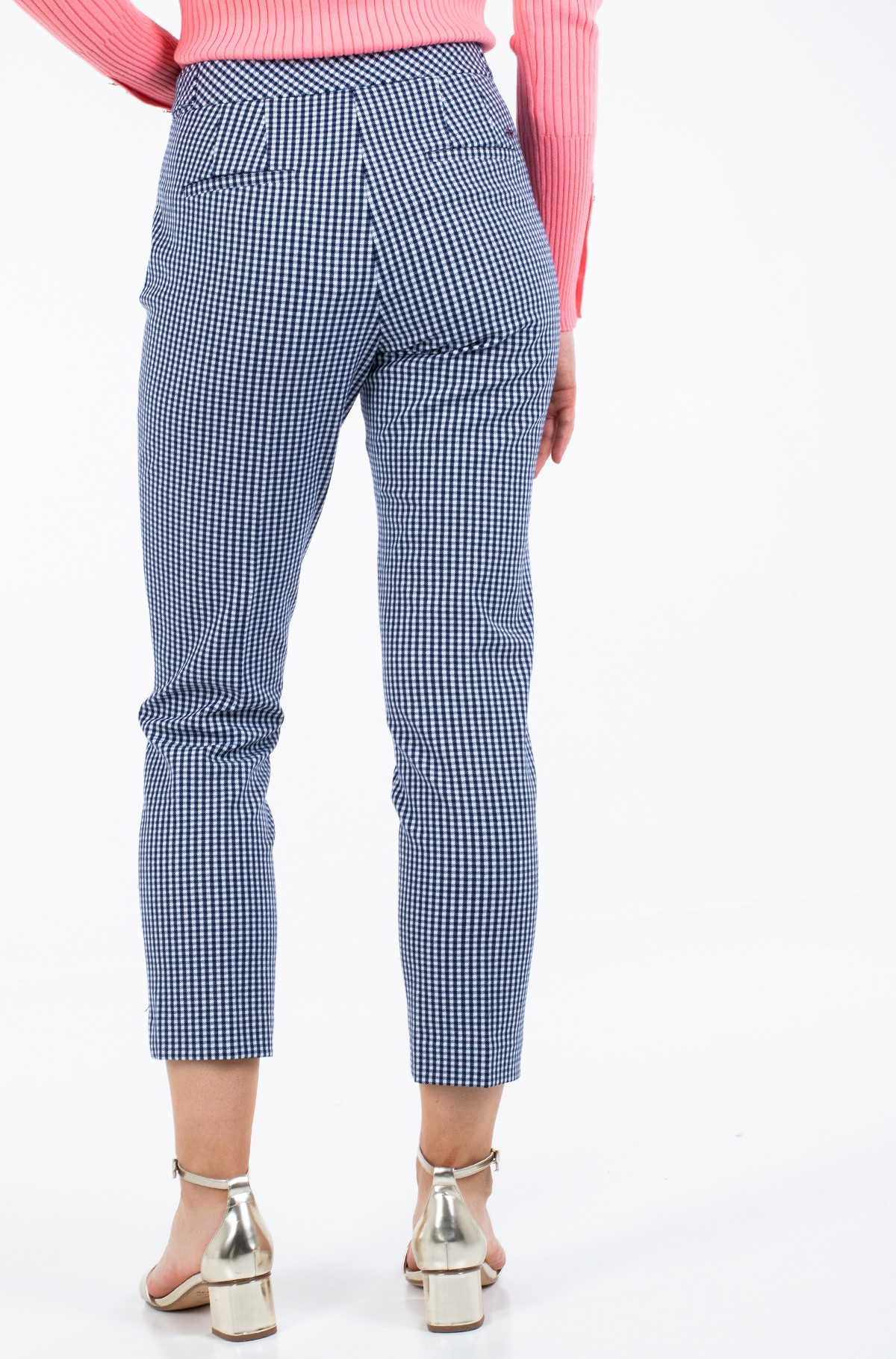 Trousers POLYVISCOSE SLIM PANT-full-2