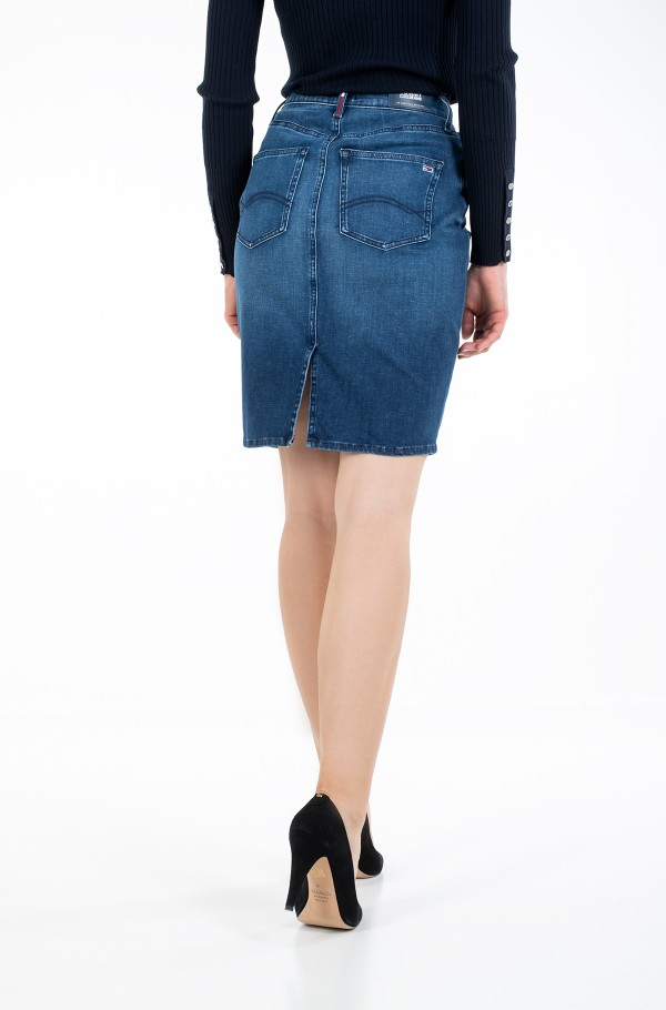 HIGH WAIST DENIM SKIRT DYADK-hover