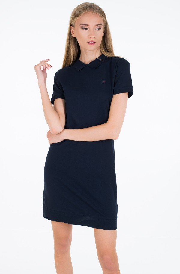 KHLOE RELAXED POLO DRESS SS