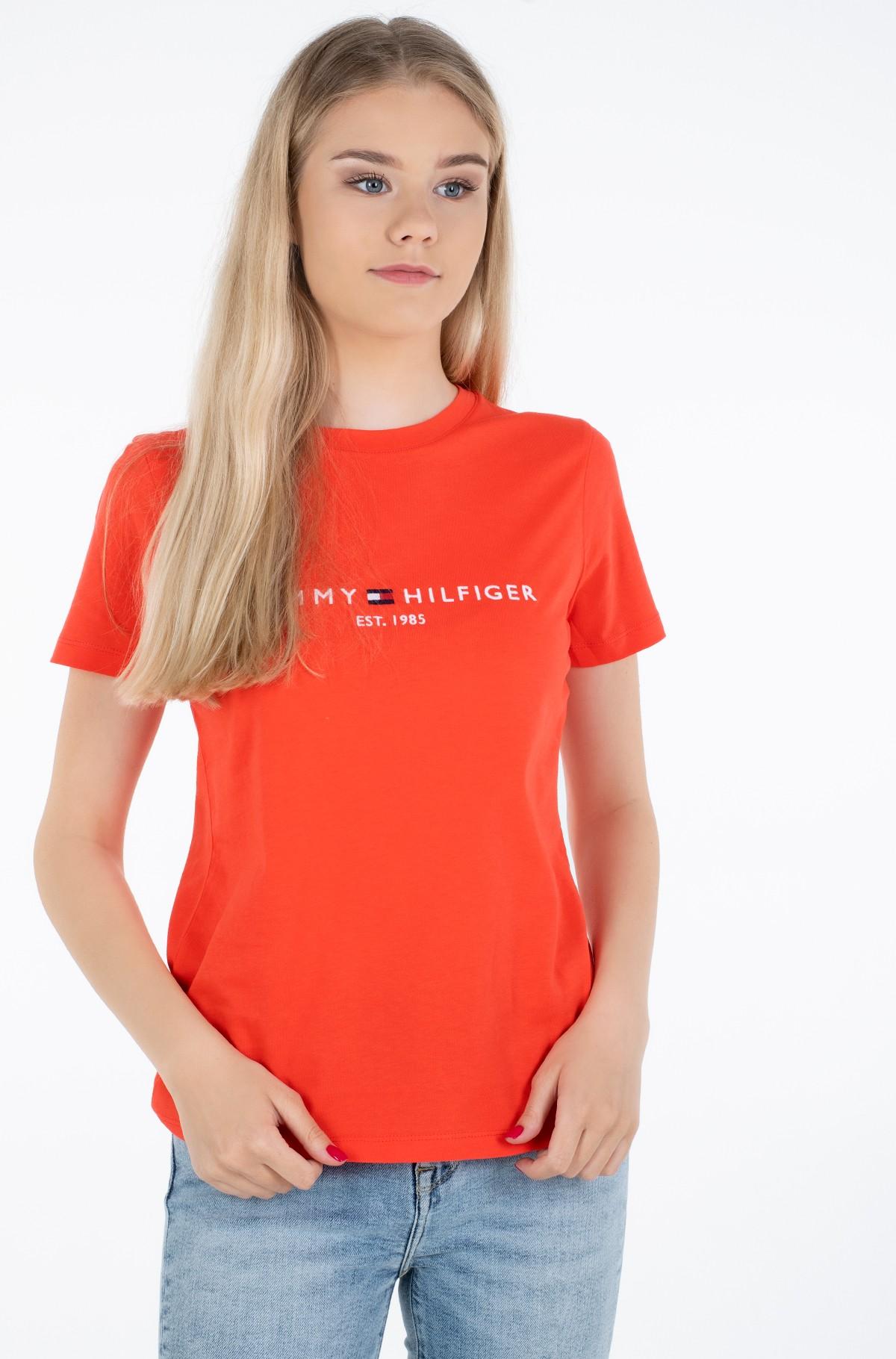 Marškinėliai NEW TH ESS HILFIGER C-NK TEE SS-full-1