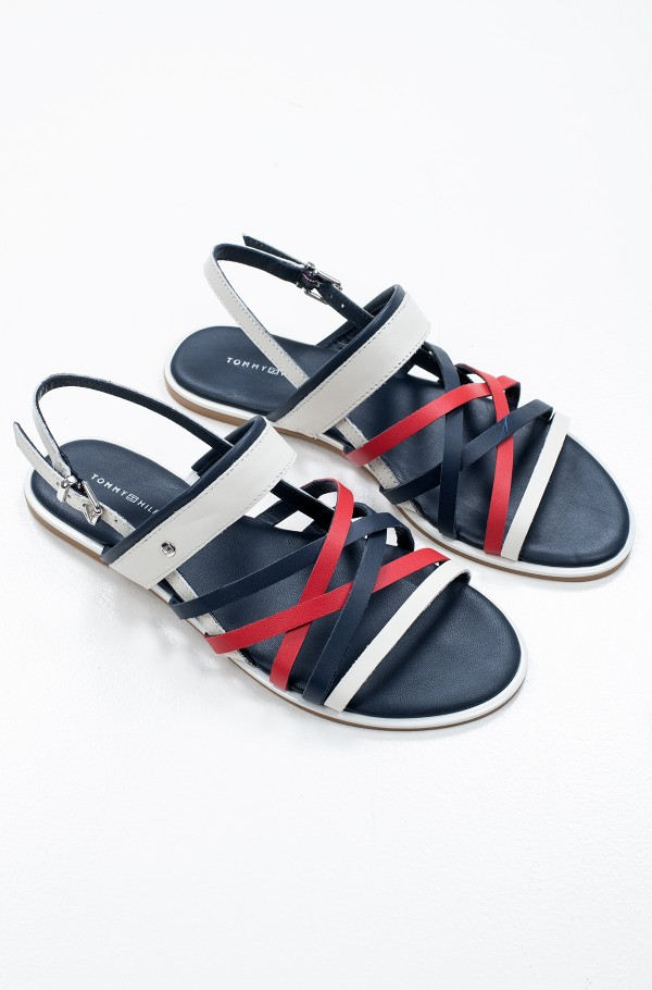 TOMMY STRAPPY FLAT SANDAL-hover