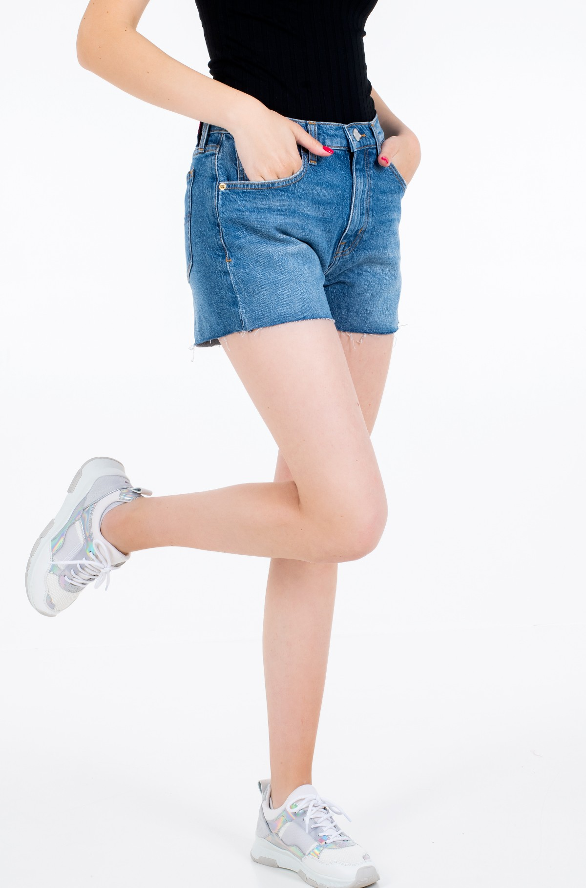 Shorts DENIM HOTPANTS ANMB-full-1