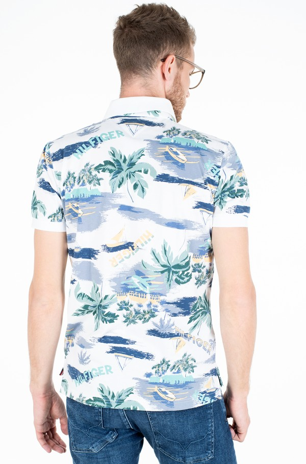 SUMMER PRINT REGULAR POLO-hover