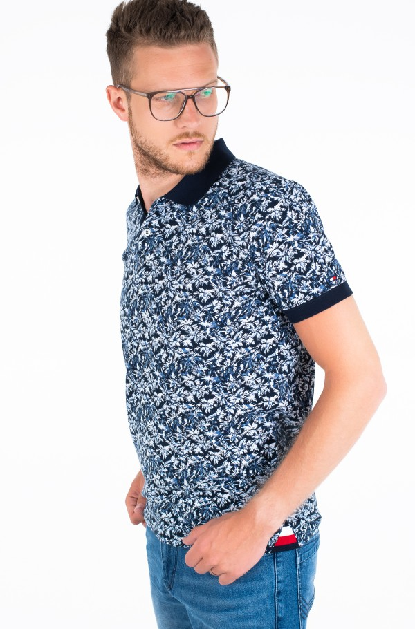 LEAF PRINT REGULAR POLO