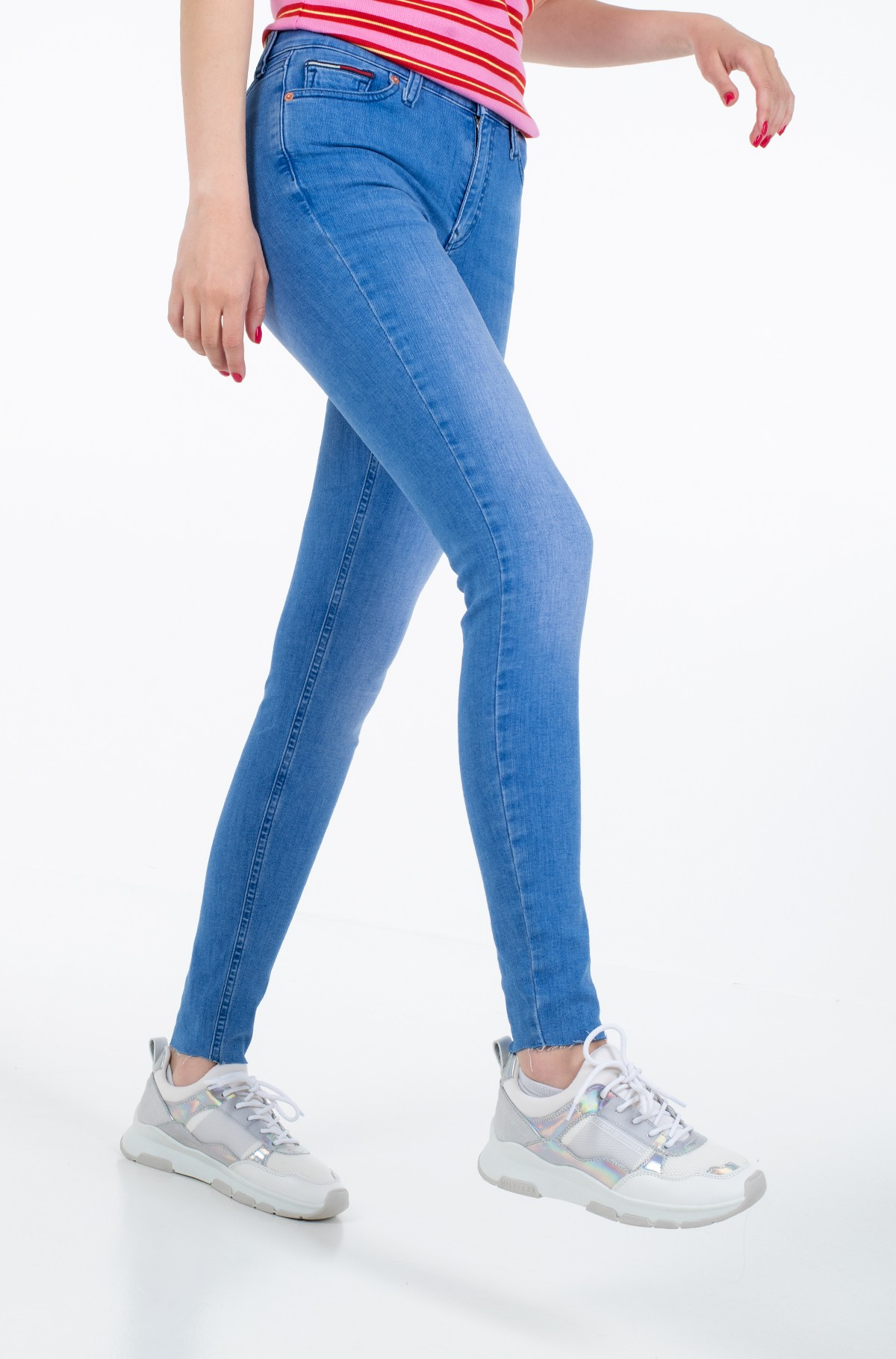 Jeans NORA MR SKINNY ANKLE ALX-full-1