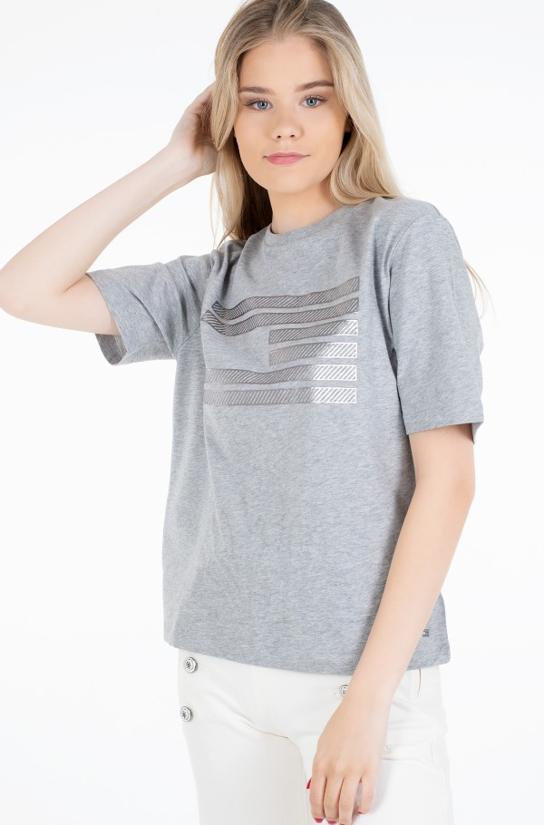 ICON RELAXED C-NK TEE SS