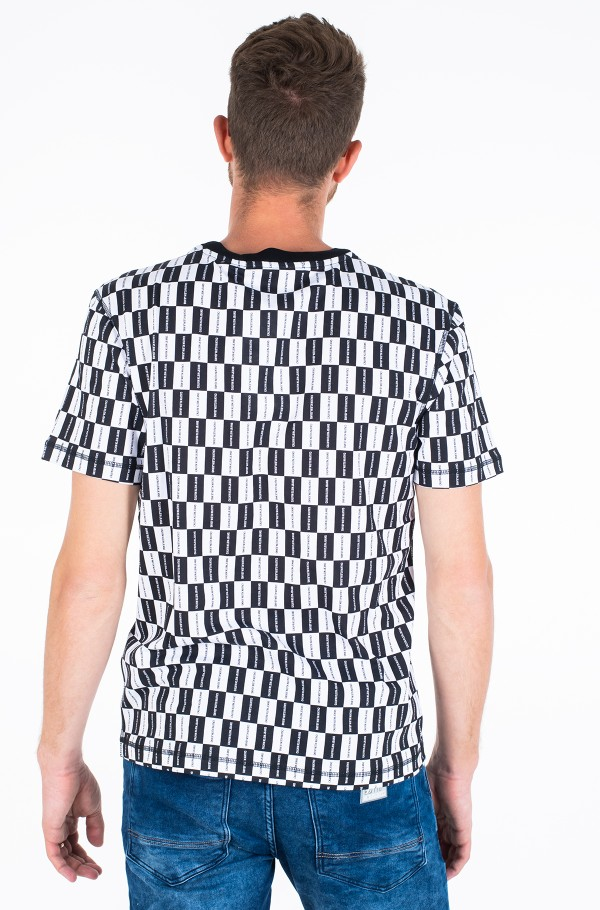 AOP CHECKERBOARD RELAXED TEE-hover
