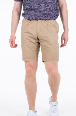 Lühikesed püksid BROOKLYN PLEATED LINEN SHORT-1