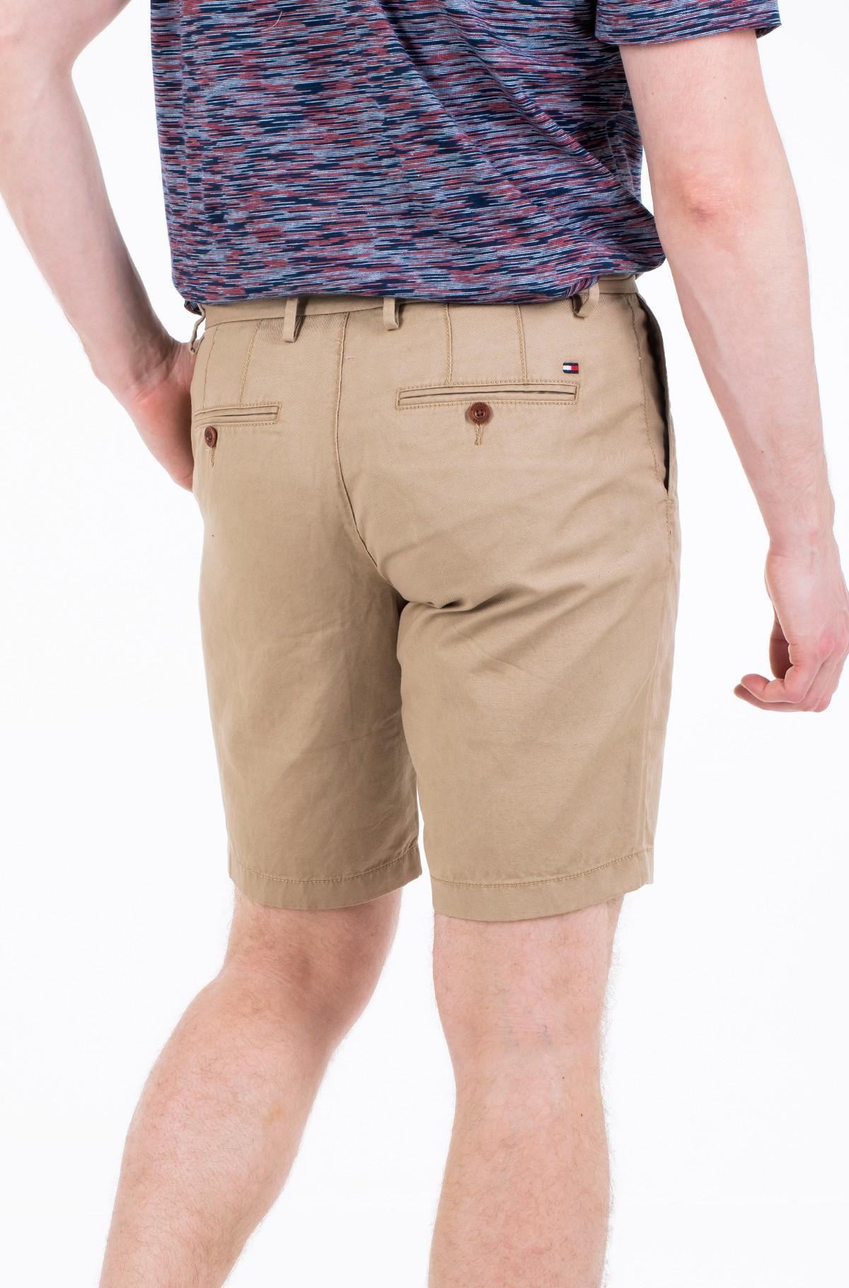 Lühikesed püksid BROOKLYN PLEATED LINEN SHORT-full-2
