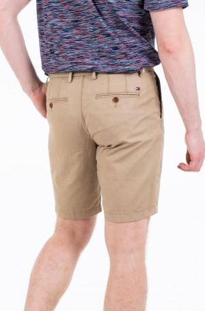 Lühikesed püksid BROOKLYN PLEATED LINEN SHORT-2